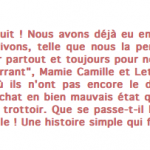 Le P'tit Ecrivain - 11 sept. 2014